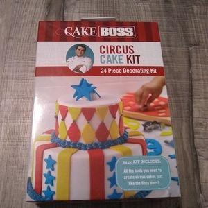 Cake Boss Circus cake kit. 24 piece